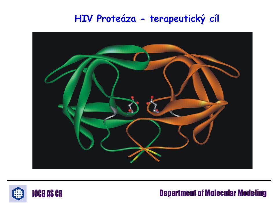 HIV Proteáza - terapeutický cíl