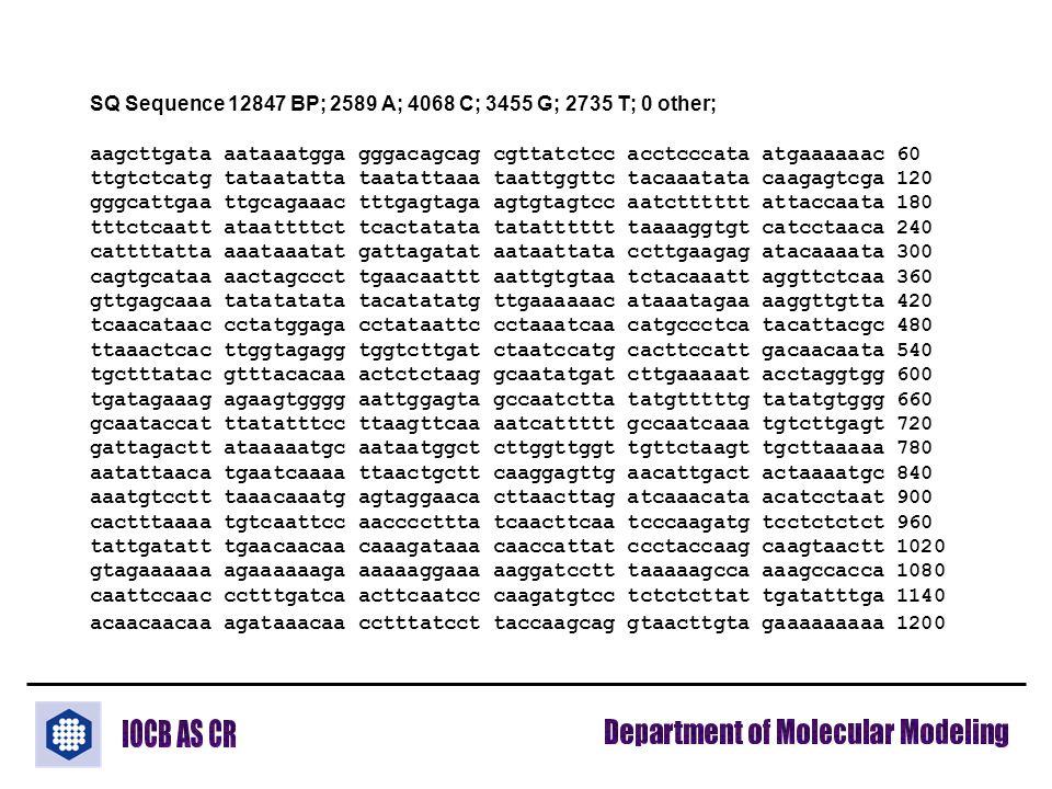 SQ Sequence 12847 BP; 2589 A; 4068 C; 3455 G; 2735 T; 0 other; aagcttgata aataaatgga gggacagcag cgttatctcc acctcccata atgaaaaaac 60 ttgtctcatg tataata