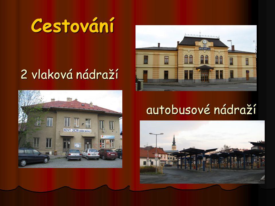 Cestování 2 vlaková nádraží autobusové nádraží