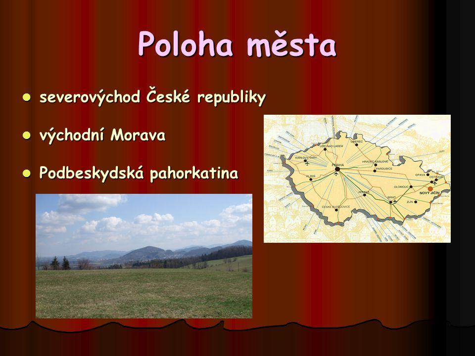 Povrch okolí * kopcovitý Starojický kopec Starojický kopec * lesy, louky, pole Puntík Puntík Svinec Svinec