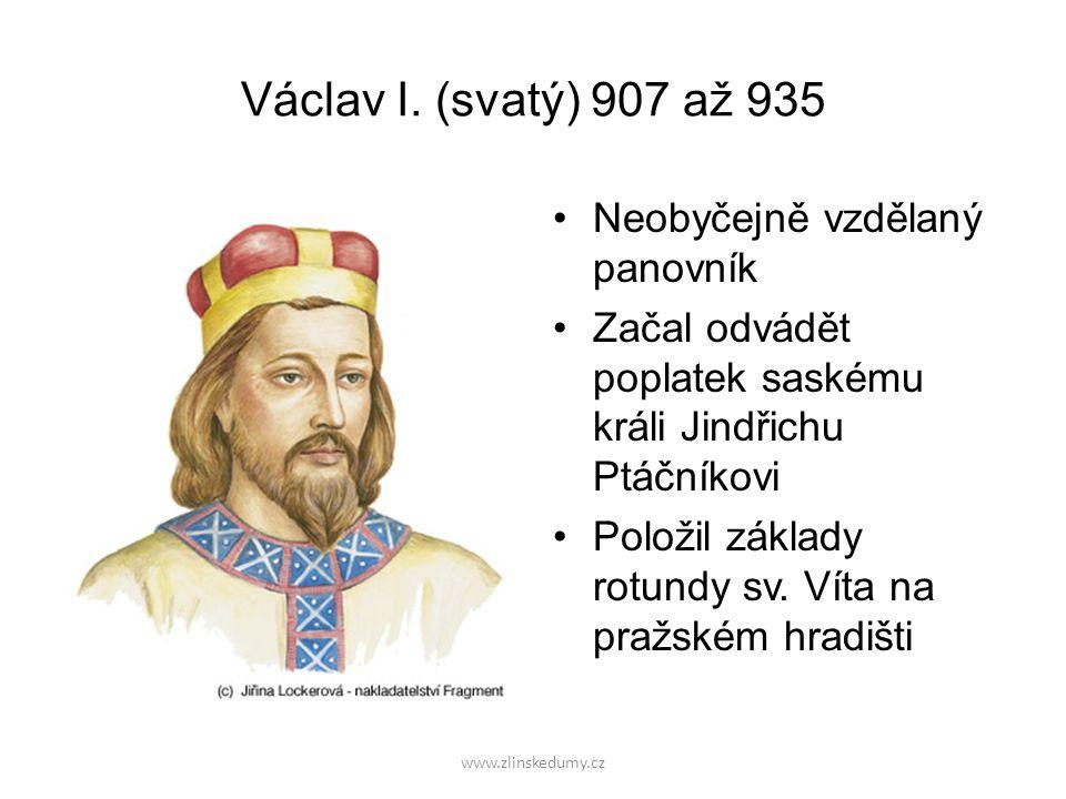 www.zlinskedumy.cz Václav I.
