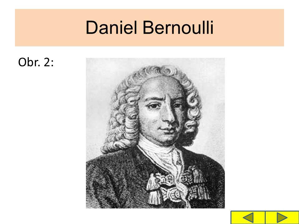 Daniel Bernoulli Obr. 2: