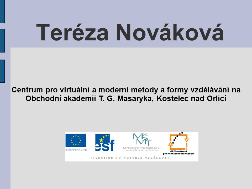 Tereza Nováková 1853 - 1912
