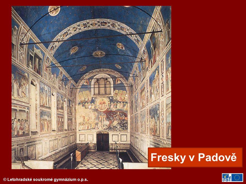 © Letohradské soukromé gymnázium o.p.s. Piero della Francesca