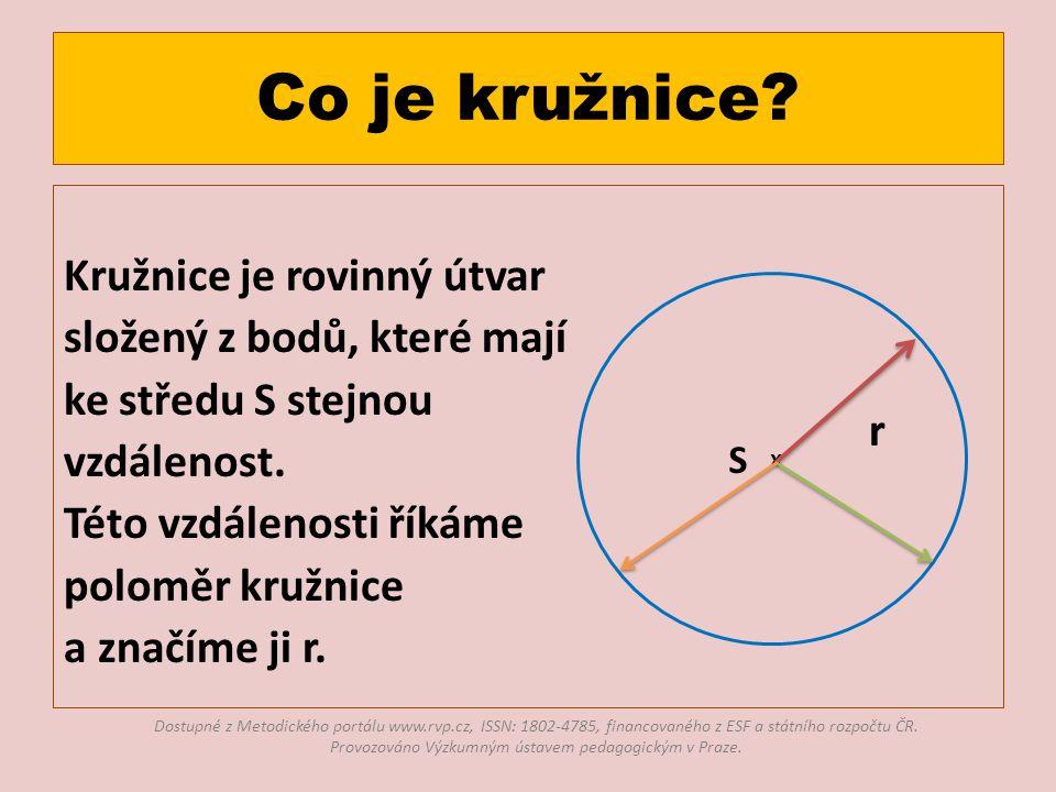 Co je kružnice.