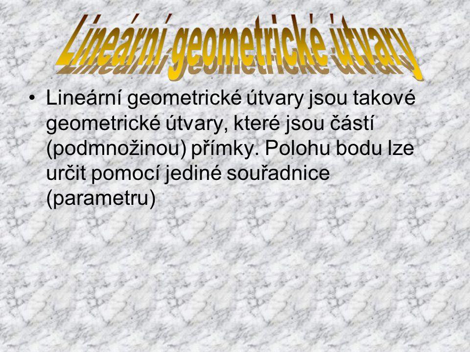 Rovinné geometrické útvary jsou geometrické útvary, které jsou částí (podmnožinou) roviny.