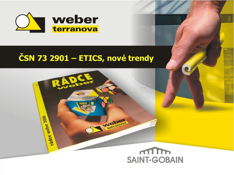 ČSN 73 2901 – ETICS, nové trendy