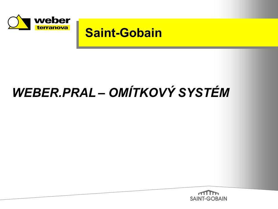 WEBER.PRAL – OMÍTKOVÝ SYSTÉM Saint-Gobain