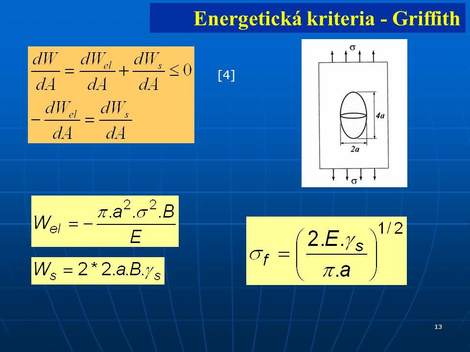 13 [4][4] Energetická kriteria - Griffith
