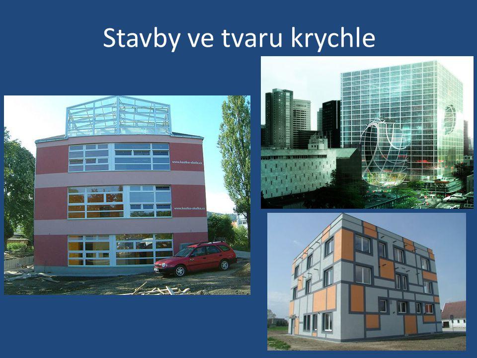 Stavby ve tvaru krychle