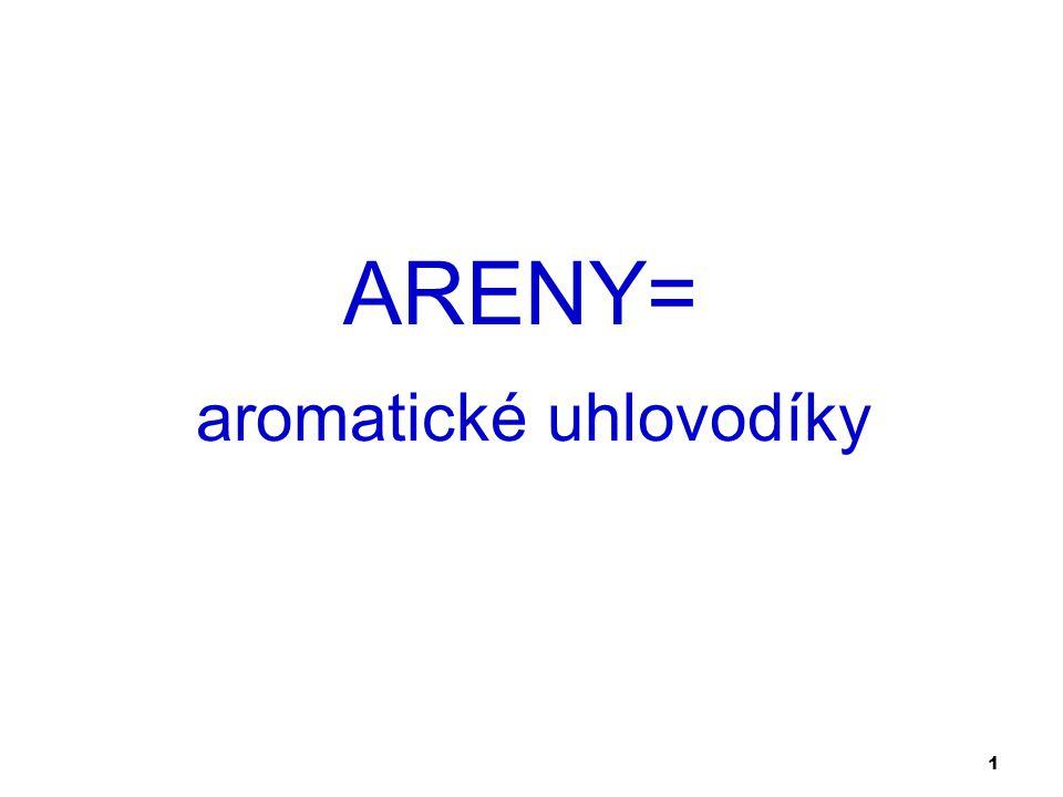 1 aromatické uhlovodíky ARENY=