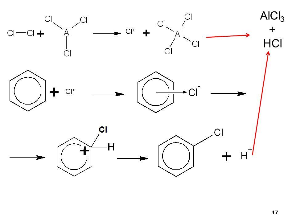 17 Cl + AlCl 3 + HCl