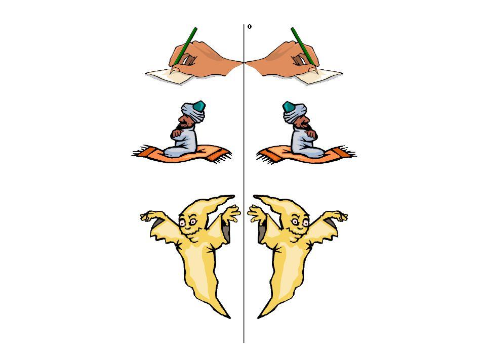 Zobrazení rovinným zrcadlem Rýsuj chod paprsků v rovinném zrcadle.