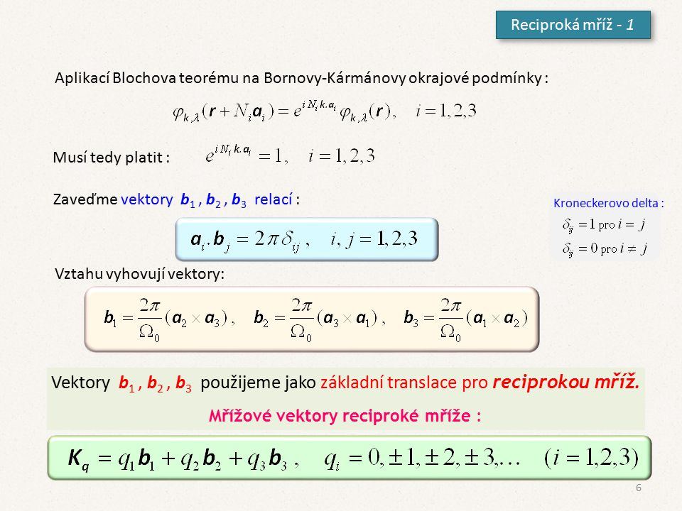 Téměř volné elektrony - 1 K modelu volných elektronů přidáme slabý periodický potenciál V(x)≠0.