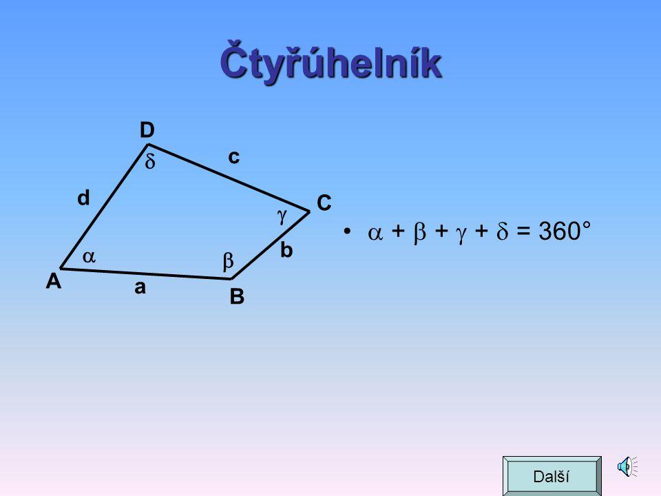 Vlastnosti pravoúhlého trojúhelníka výška Další