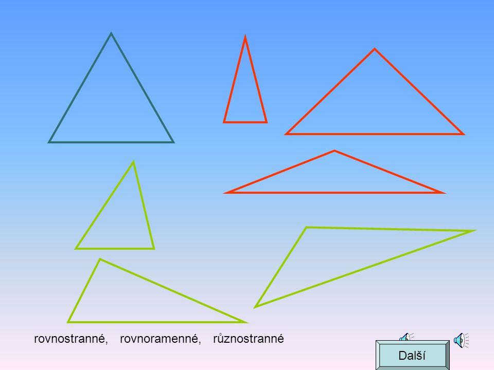 Trojúhelník  + +  = 180° KL M k l m   Další
