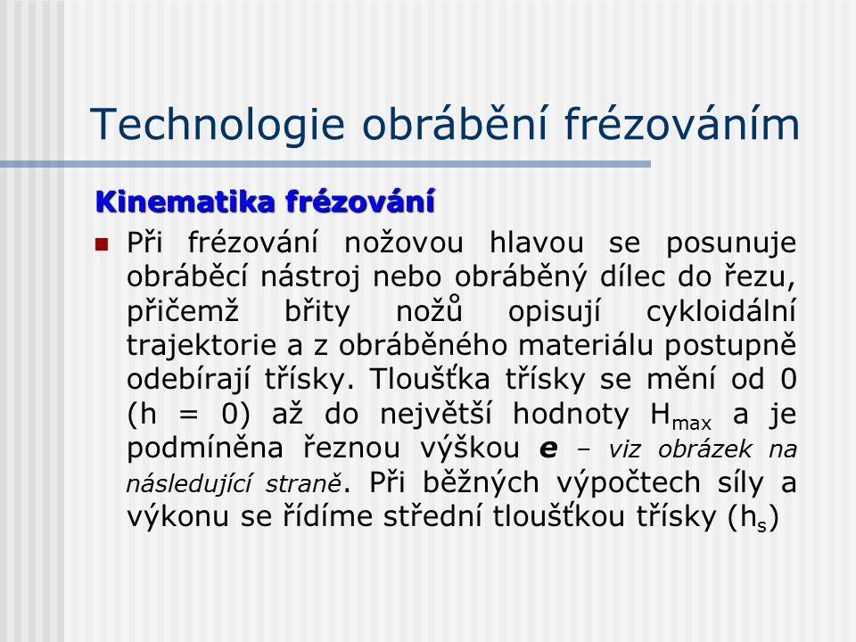 1.3.1Technologie obrábění frézováním Frézování je obrábění materiálů (dřeva otáčejícím se frézovacím nástrojem s cílem vytvoření : rrovných, nebo t