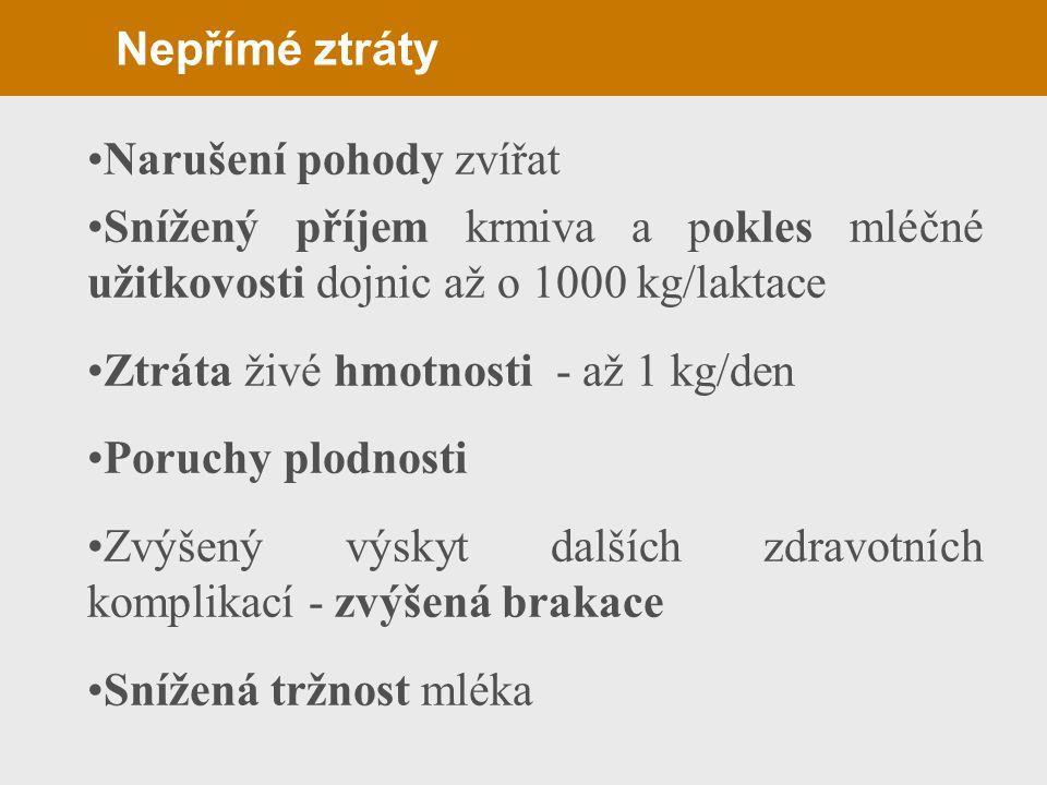 Léčba a prevence(panaritium) Počáteční forma - aplikace antibiotik a sulfonamidů - izolace nemocných zvířat Komplikovaná stádia Amputace prstu Zabránění vzniku onemocnění Preventivní koupele Dobré zoohygienické podmínky