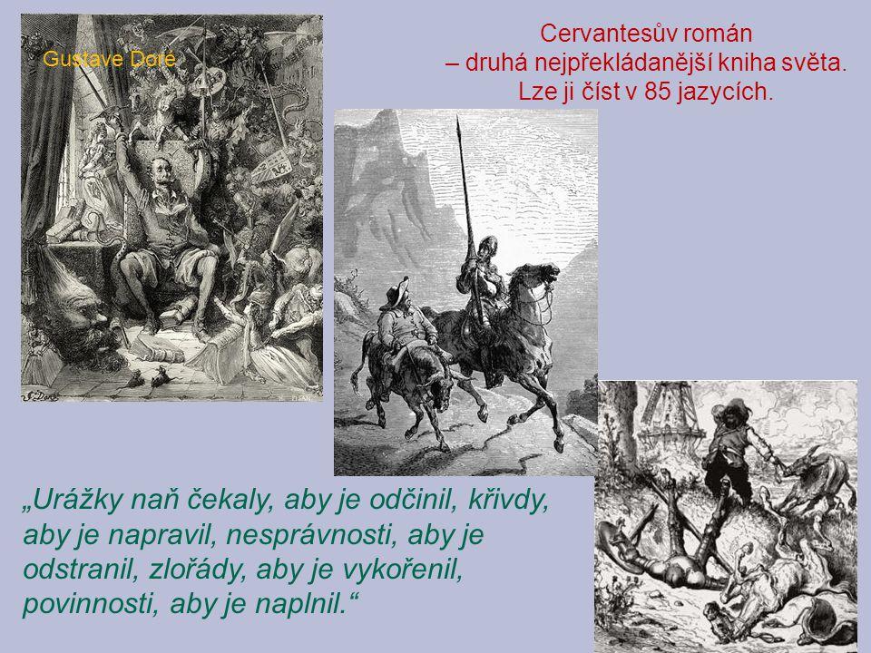 """Gustave Doré """"Urážky naň čekaly, aby je odčinil, křivdy, aby je napravil, nesprávnosti, aby je odstranil, zlořády, aby je vykořenil, povinnosti, aby j"""