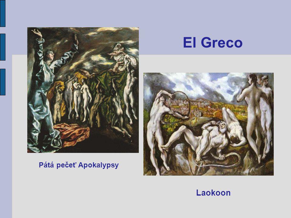 Pátá pečeť Apokalypsy Laokoon El Greco