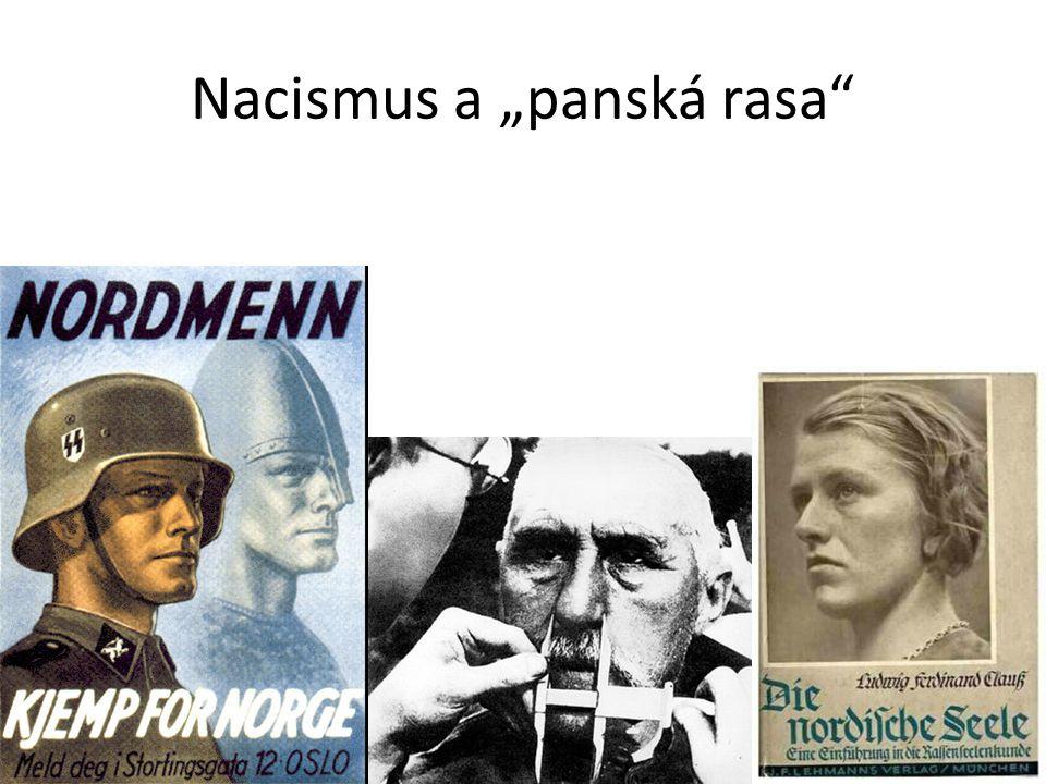 """Nacismus a """"panská rasa"""