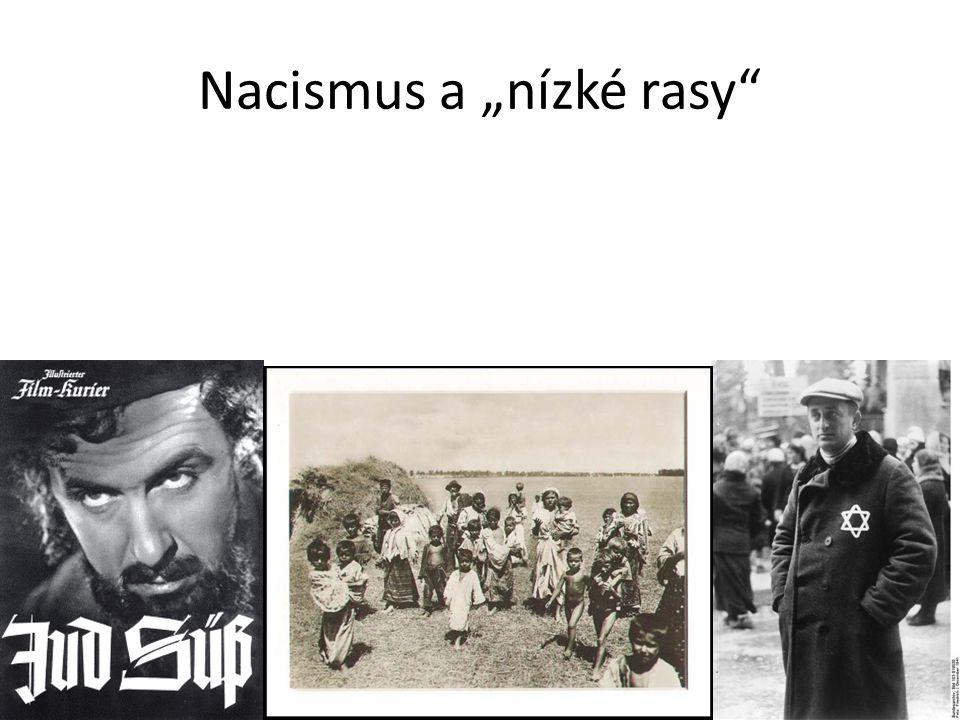 """Nacismus a """"nízké rasy"""