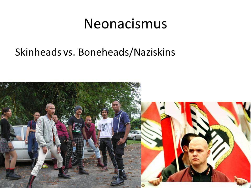 Skinheads vs. Boneheads/Naziskins
