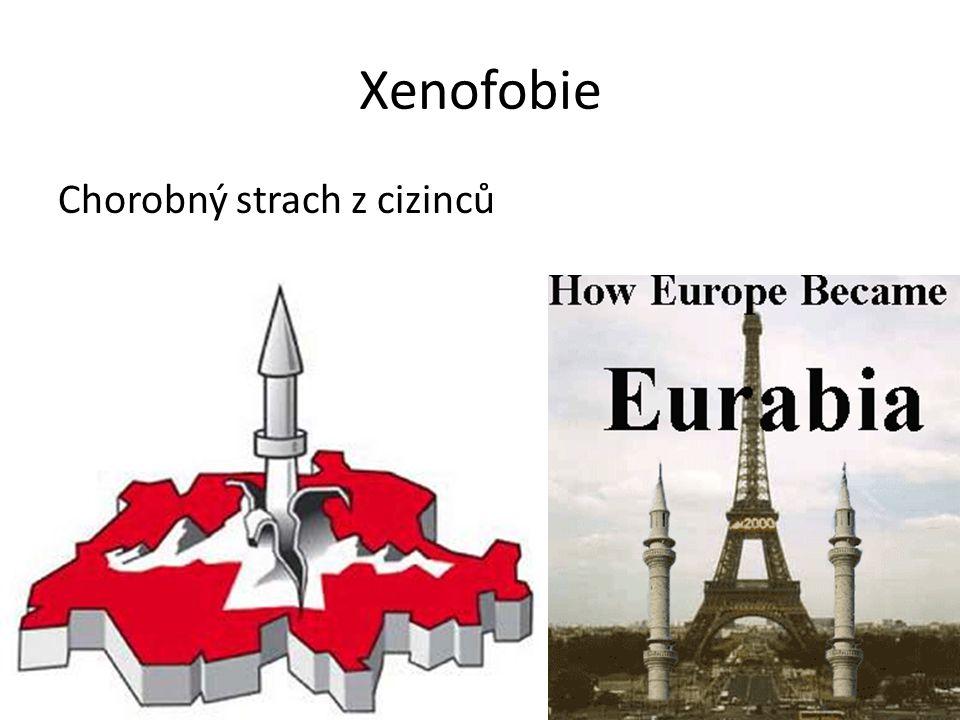 Xenofobie Chorobný strach z cizinců
