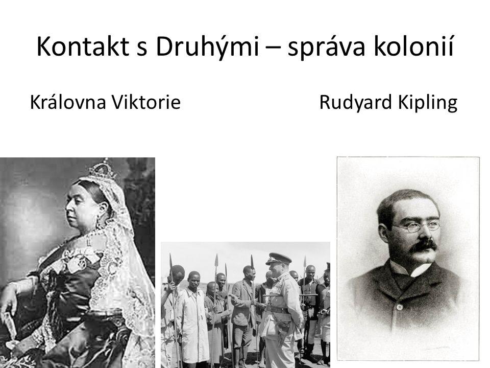 Královna Viktorie Rudyard Kipling