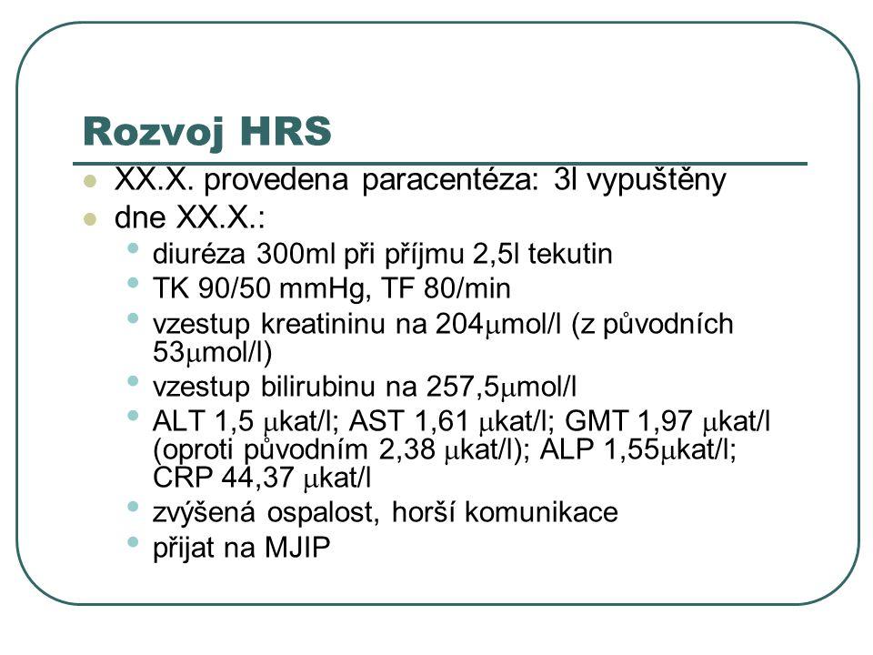 Rozvoj HRS XX.X.