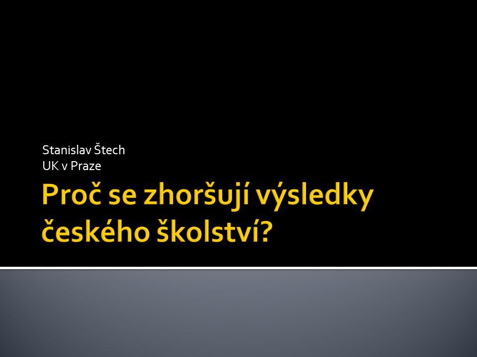 Stanislav Štech UK v Praze
