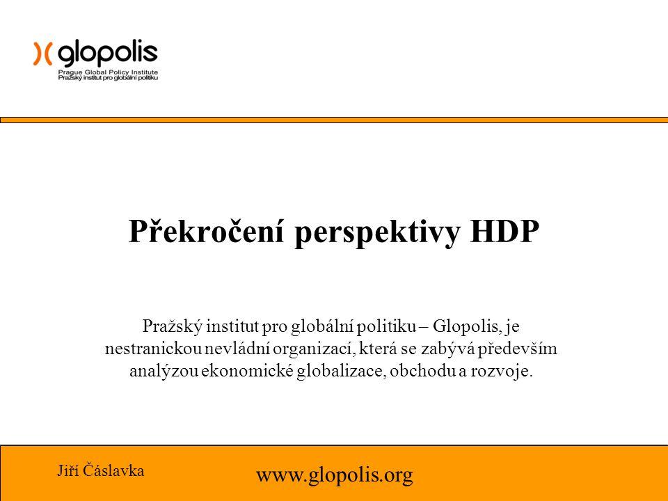 Pražský institut pro globální politiku – Glopolis, je nestranickou nevládní organizací, která se zabývá především analýzou ekonomické globalizace, obchodu a rozvoje.