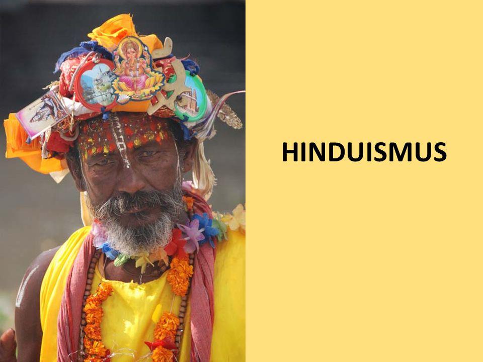 """ v hinduismu je běžné obětování božstvům  buddhismus i džinismus to zavrhují, stejně jako odmítají védskou mytologii (soudí, že nemá pro duchovní život člověka a jeho vysvobození z cyklu koloběhu takřka žádný význam)  hinduistická společnost dělená na kasty  původně nazývané """"varny (tedy """"barvy )  termín kasty: z portugalštiny (viz evropské stavy)  buddhismus i džinismus kastovní systém odmítají  kastovní systém (dědičný):  nejvyšší vrstvou jsou kněží zvaní brahmani: znalost posvátných textů i obětí v chrámech, znalost sanskrtu, vegetariáni (bílá barva)  dále jsou to kšatrijové: tradiční třída válečníků a panovníků, šlechty, písařů, úředníků (červená barva)"""