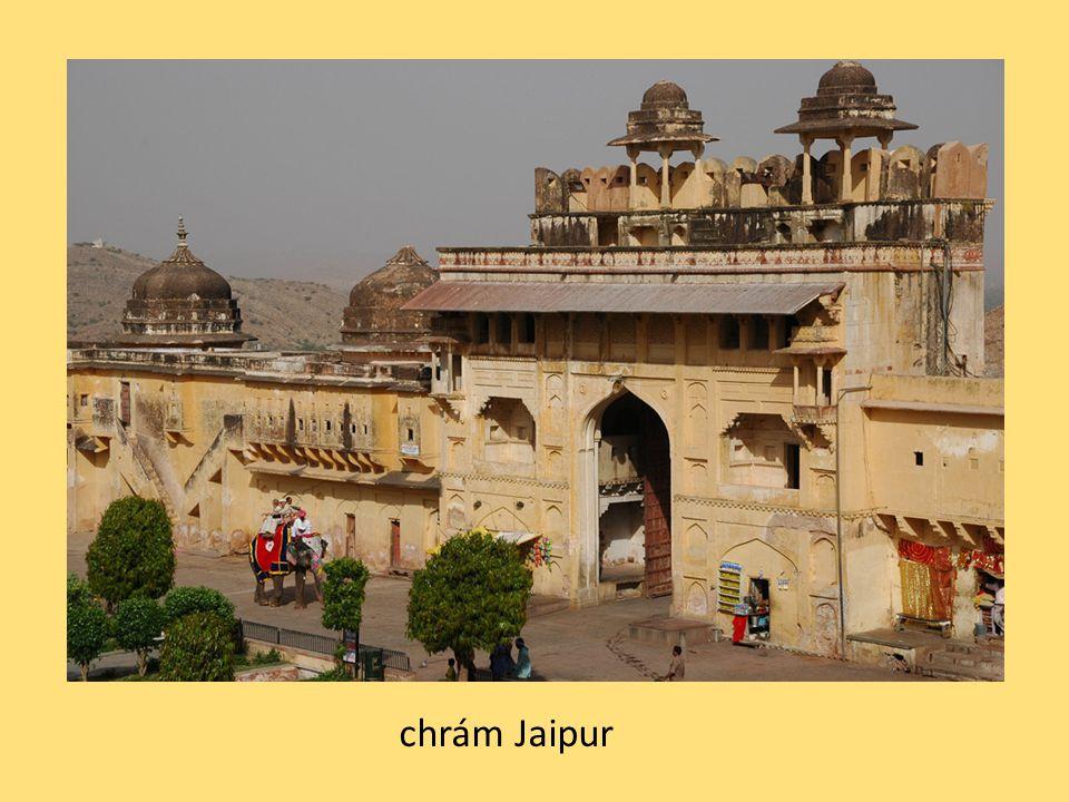 chrám Jaipur