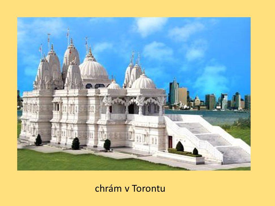 chrám v Torontu