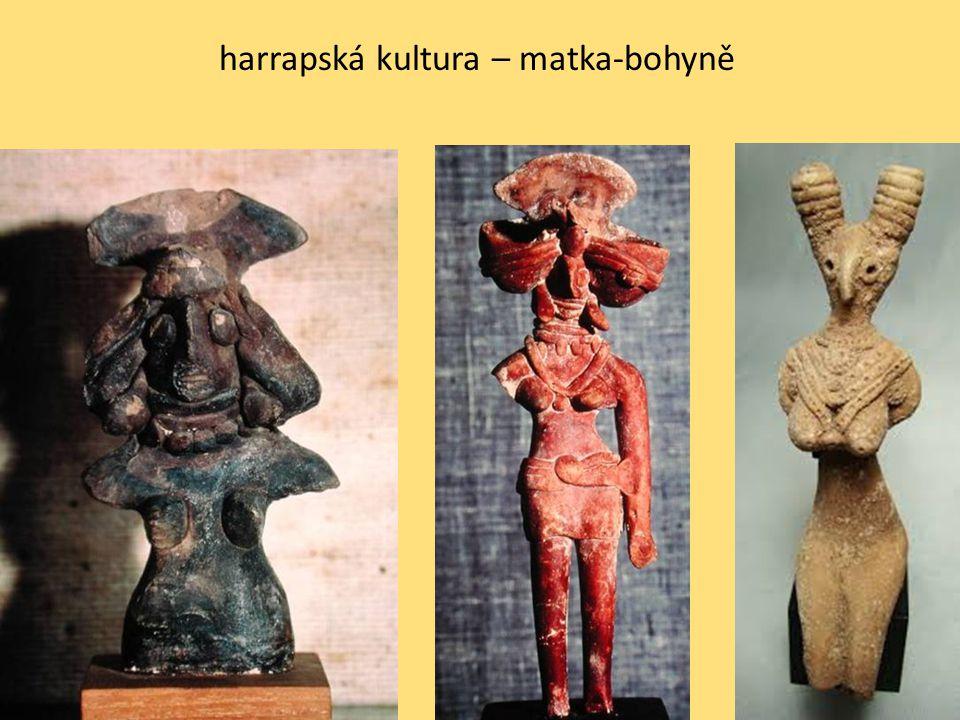 harrapská kultura – bůh-ploditel (proto-Šiva)