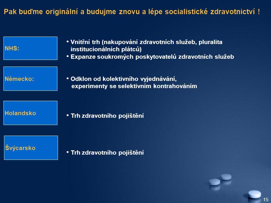 15 Pak buďme originální a budujme znovu a lépe socialistické zdravotnictví .