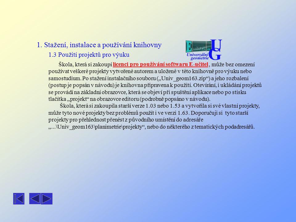 Střed úsečky Popis projektu: Ovládání: Struktura projektu: Provázanost objektů: stred_us1.xls Střed dvojice bodů zadaných pomocí souřadnic.