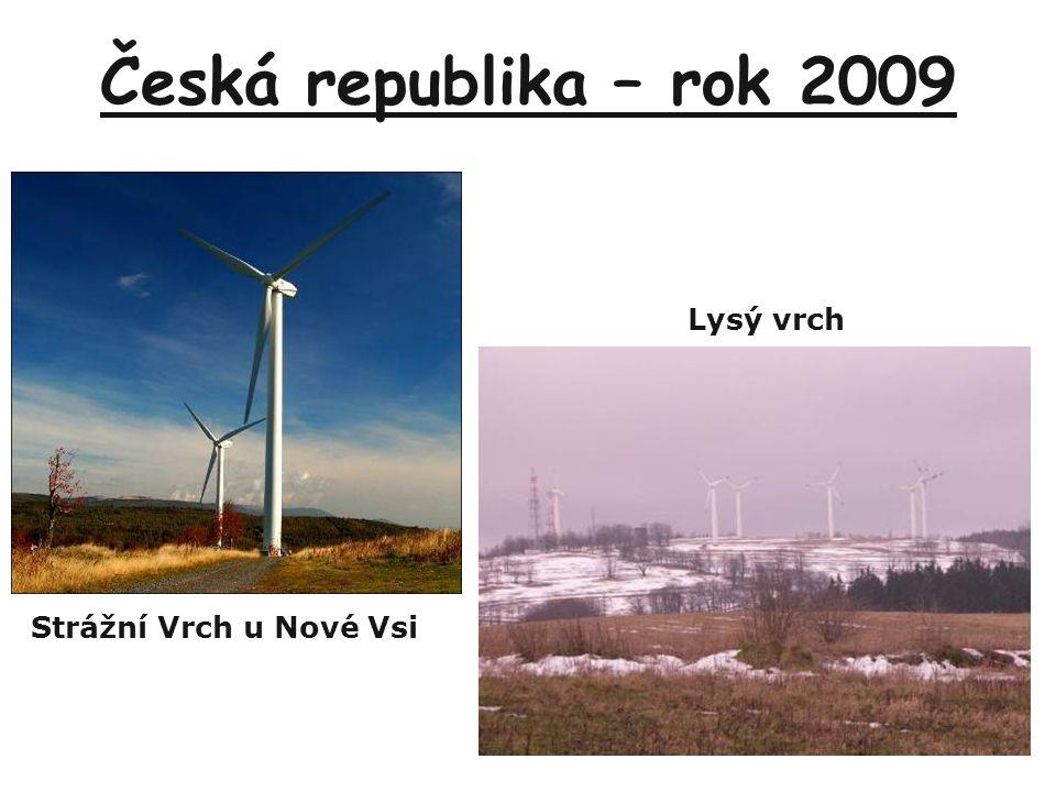 Česká republika – rok 2009 Strážní Vrch u Nové Vsi Lysý vrch