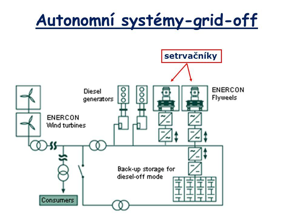 Autonomní systémy-grid-off setrvačníky