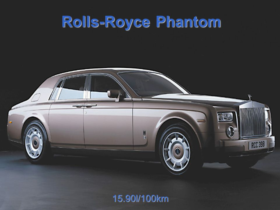 Rolls-Royce Phantom 15.90l/100km