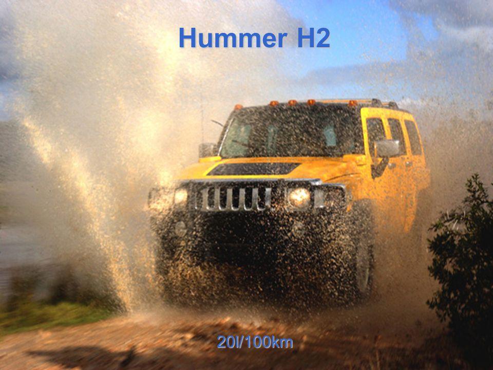 Hummer H2 20l/100km