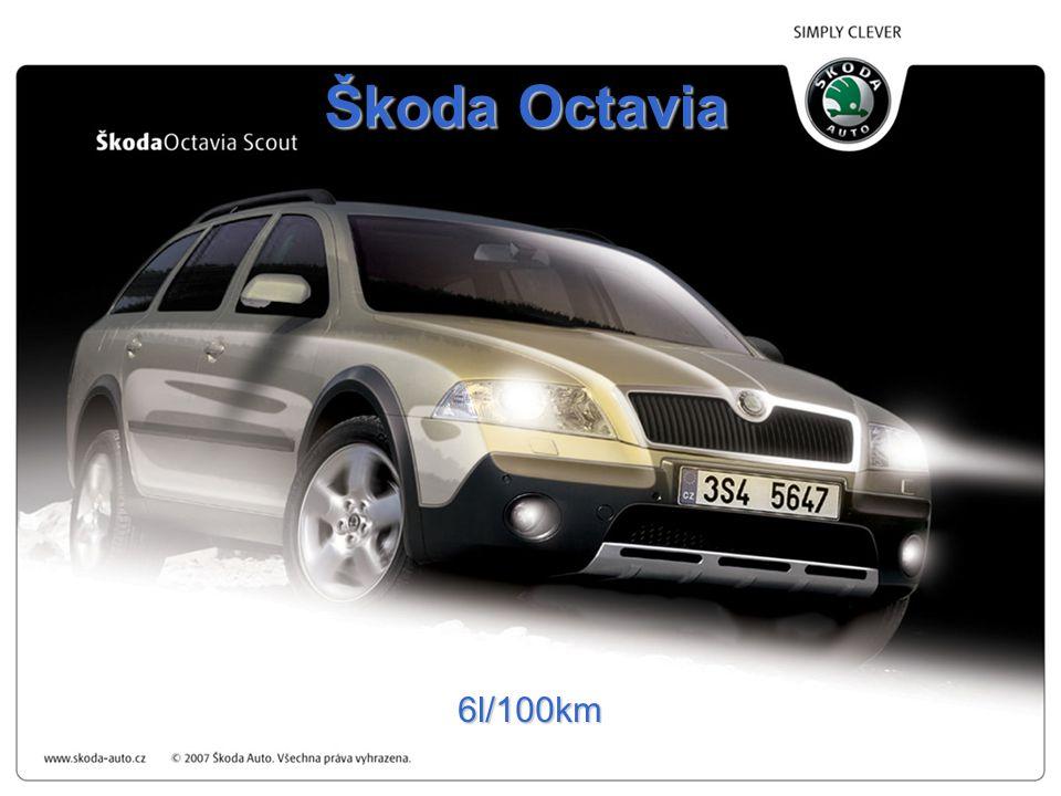 Škoda Octavia 6l/100km