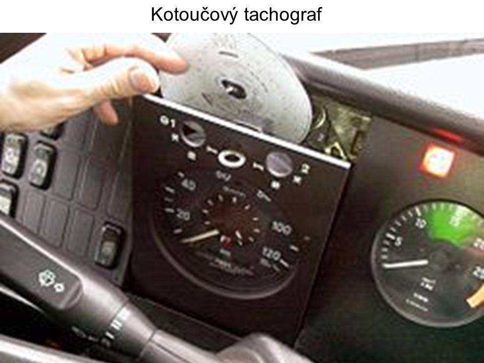 Kotoučový tachograf