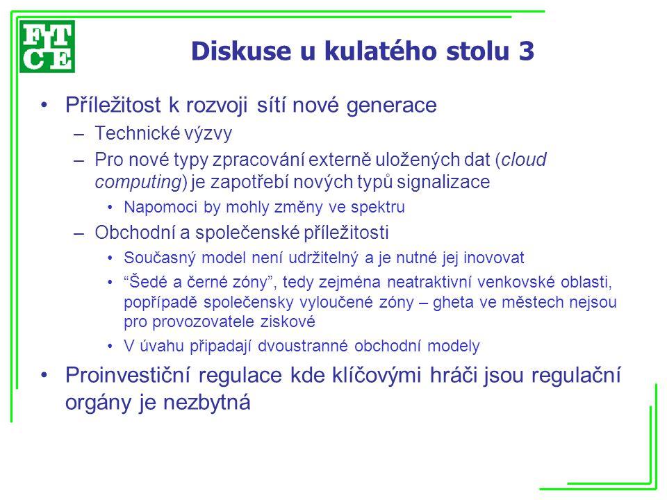 Blok 8: Cesta k širokopásmové komunikaci nové generace II Konstantina Katsampari, OTE, Řecko: Samořiditelnost v kontextu sítí nové generace NGN.