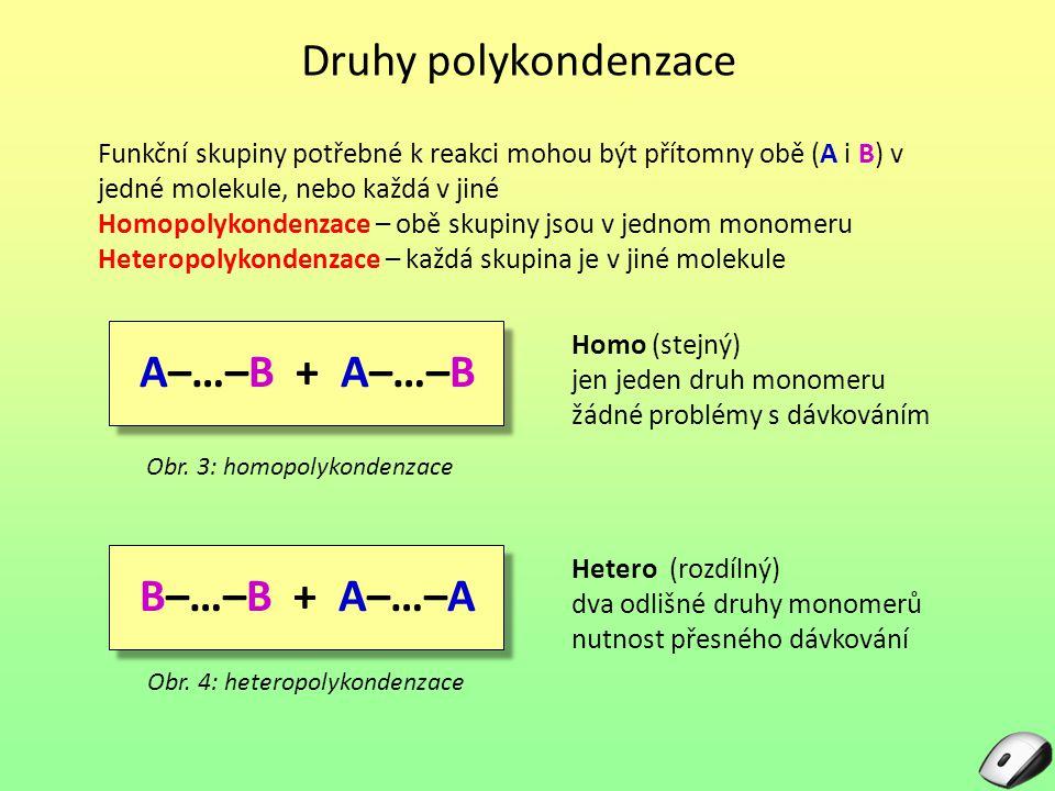 Průběh polykondenzace Obr.5: kyselina Obr.