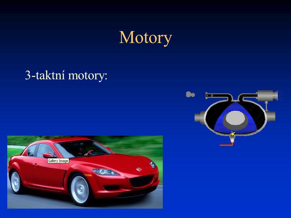 Motory 3-taktní motory: