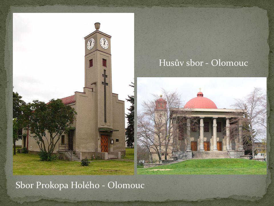 Husův sbor - Olomouc Sbor Prokopa Holého - Olomouc