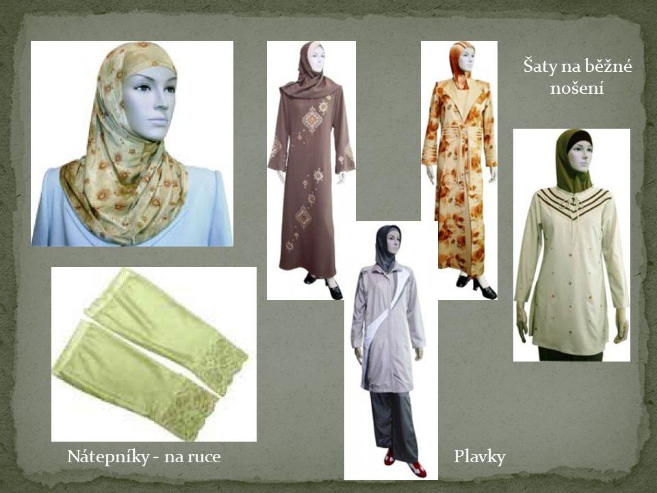 Šaty na běžné nošení Nátepníky - na rucePlavky