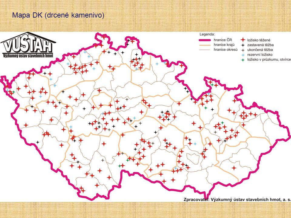 Mapa DK (drcené kamenivo)